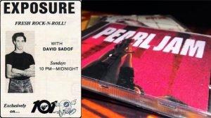 Pearl Jam 1991 KLOL Houston interview